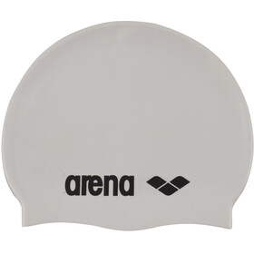 arena Classic Silicone Badehætte, white-black